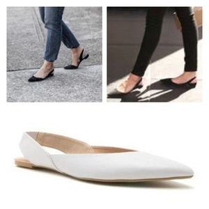 Shoes - 3 Colors, Vegan Leather Sing Back Flats